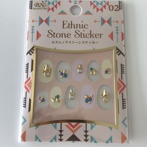 Jewelry - Nail stickers ethnic stone